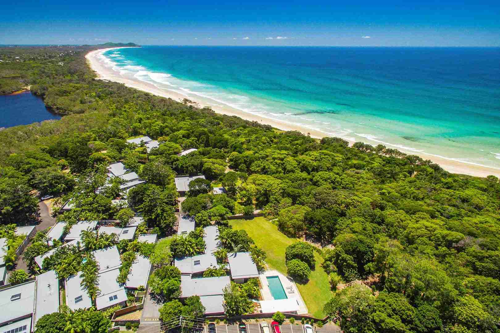 Byron Beach Retreats Aerial Photography