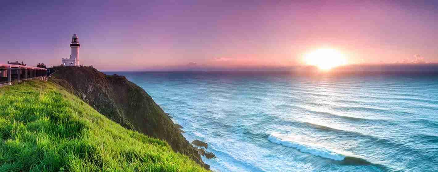 Cape Byron Lighthouse Sunset