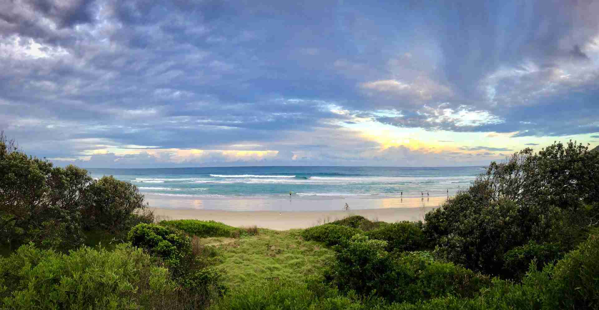 Suffolk Park Beach Byron Bay