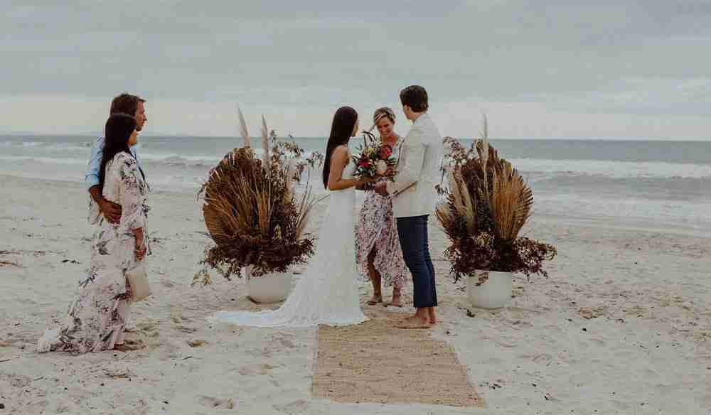 Elopement Wild Goat Events - Romantic Beachfront Getaway at The Bungalow