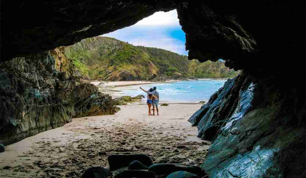 Whites Beach Broken Head Nature Reserve via We Are Explorers - Romantic Beachfront Getaway at The Bungalow